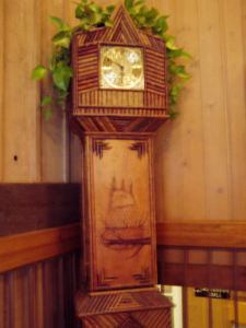 Clock at Abe Martin Lodge