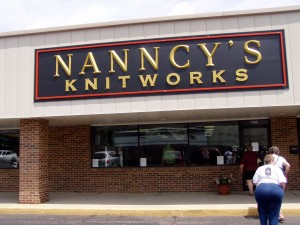 This was the first stop on the yarn crawl in Springfield, Illinois.
